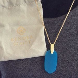 Gorgeous teal pendant by Kendra Scott.  NWOT 🎁❣️